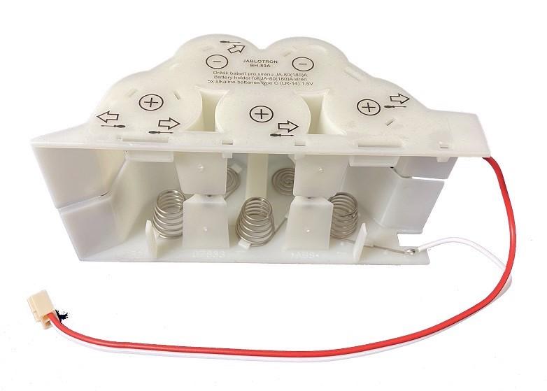 Jablotron Batterie-Halter BH-80A für Funk-Außensirene JA-80A u. JA-180A