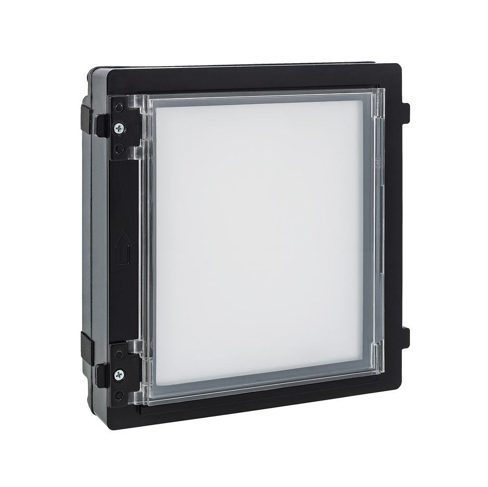 ModuVis Infomodul mit Beleuchtung | ABUS TVHS20040 - Vorderansicht rechts