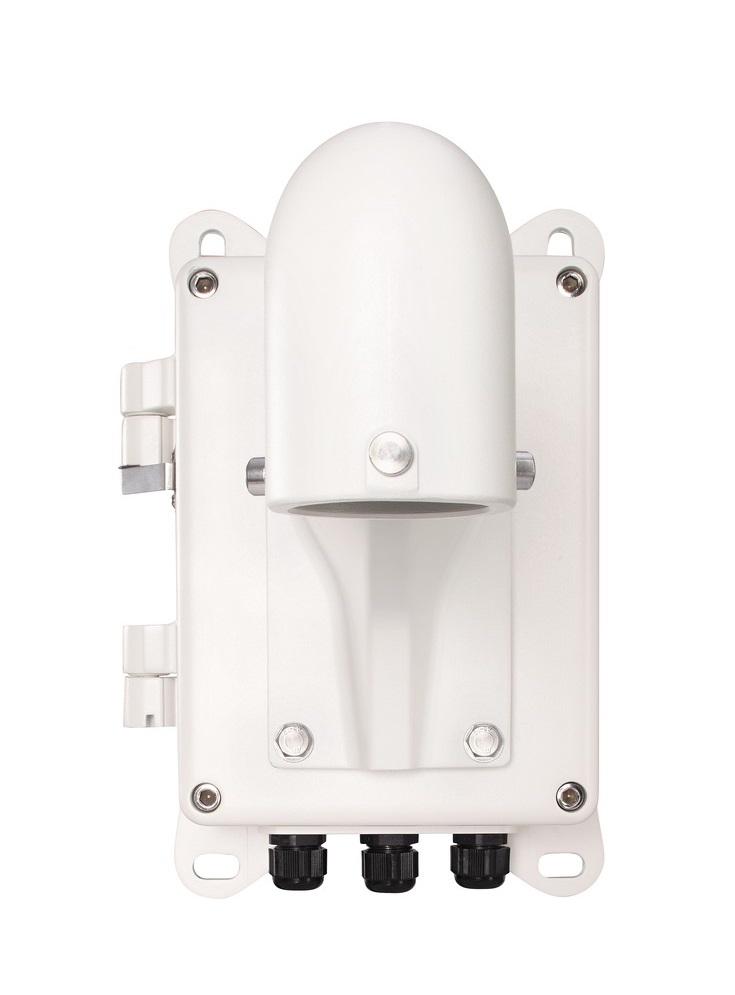 Anschlussbox inkl. langer Wandhalter für ABUS Speed Dome - Vorderansicht