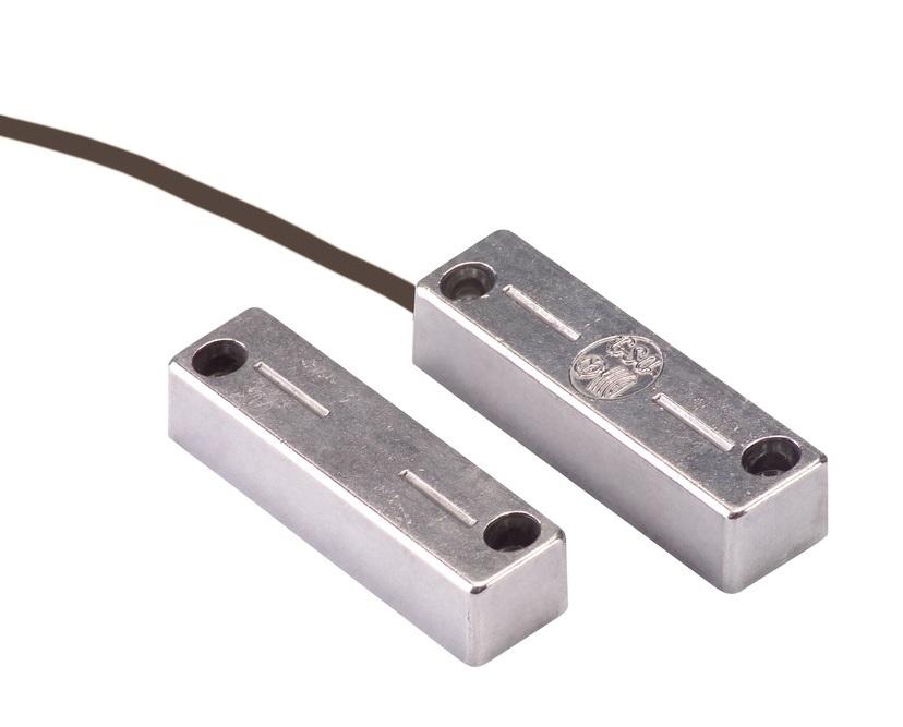 Öffnungsmelder für Stahltüren | ABUS MK4200 - Vorderansicht
