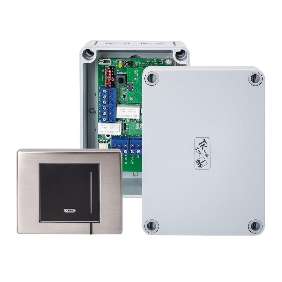 ABUS wAppLoxx WLX Pro Wall Reader Set Industrial IP67 (Wandleser + Bridge Box)