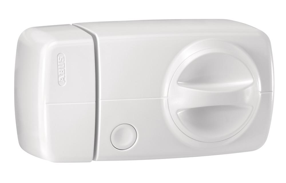 Secvest FUFT50011W Funk-Türzusatzschloss mit Drehknauf – 7010 E (weiß)