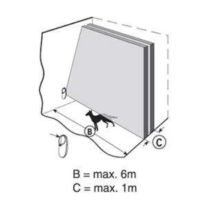 Visonic PowerG Vorhangmelder Clip PG2