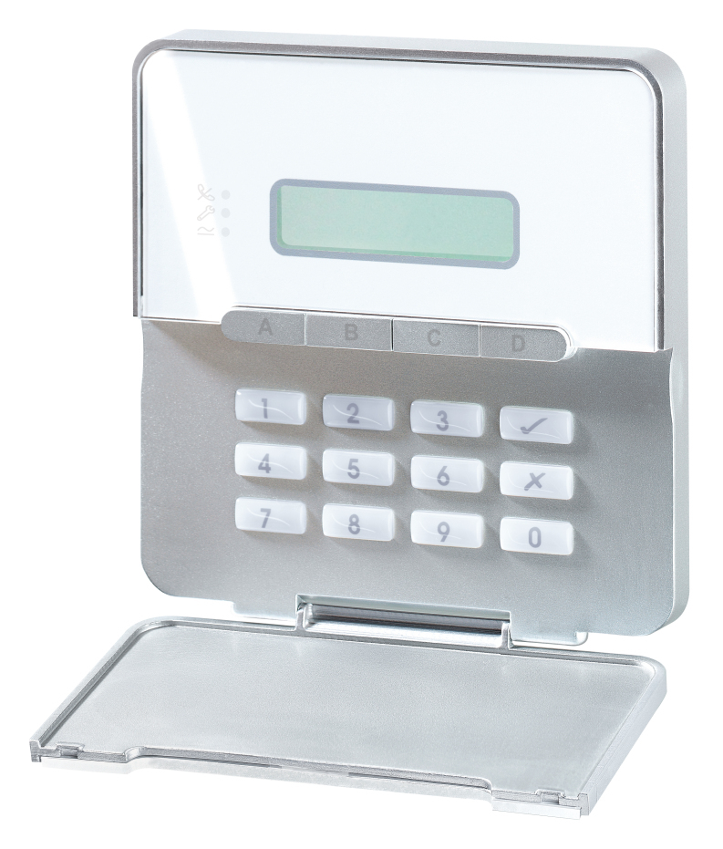 Terxon LCD-Bedienteil AZ4110 mit offenbem Bedienfeld