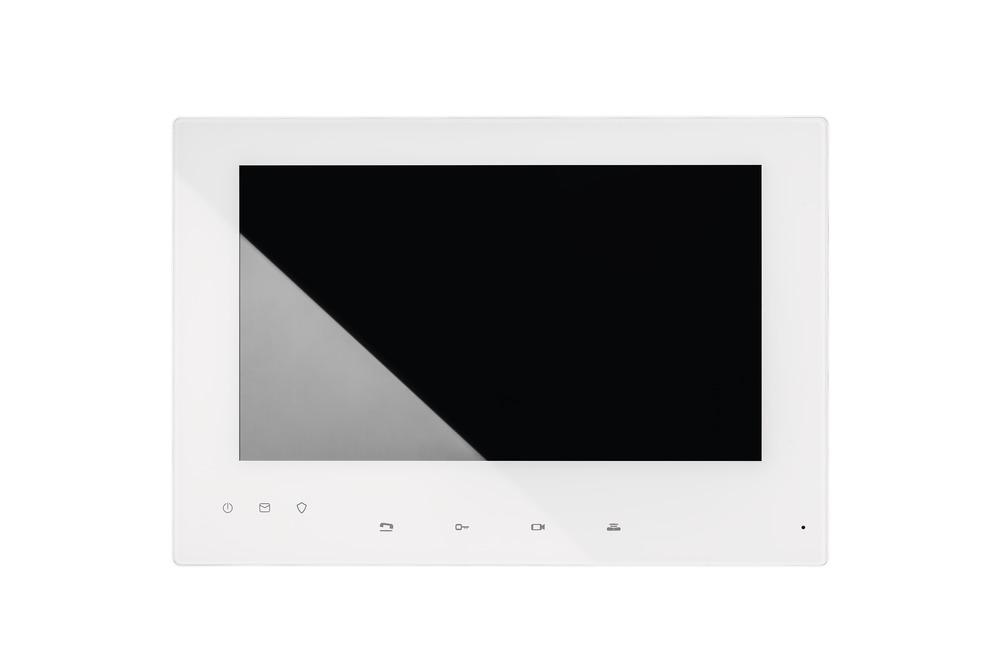 """7"""" Touchscreen-Monitor für ABUS Video-Türsprechanlage - Frontalansicht"""