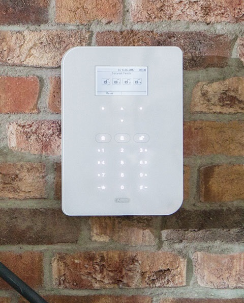 Secvest - Touch Funkalarmanlage montiert