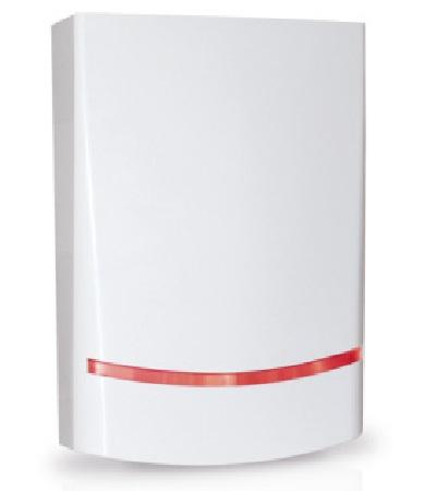 Außensirene mit LED-Blitzleuchte BLADE 01 - AMC Italia - Vorderansicht rechts