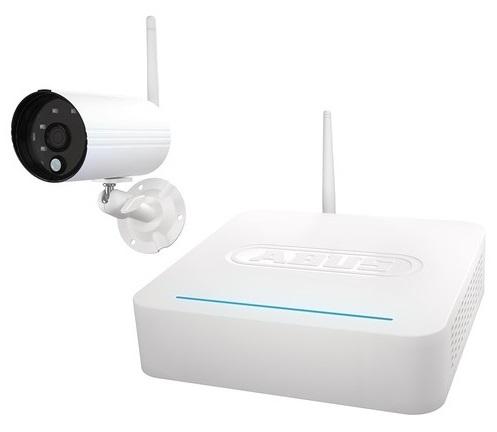 ABUS OneLook Videoüberwachungssystem - Komplettset mit Funk-Außenkamera + Rekorder