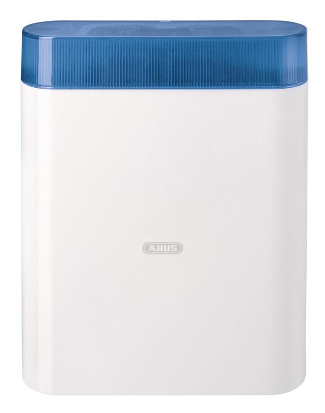 Abus Signalgeber AZSG10010 (blau) für den Außenbereich - Vorderansicht