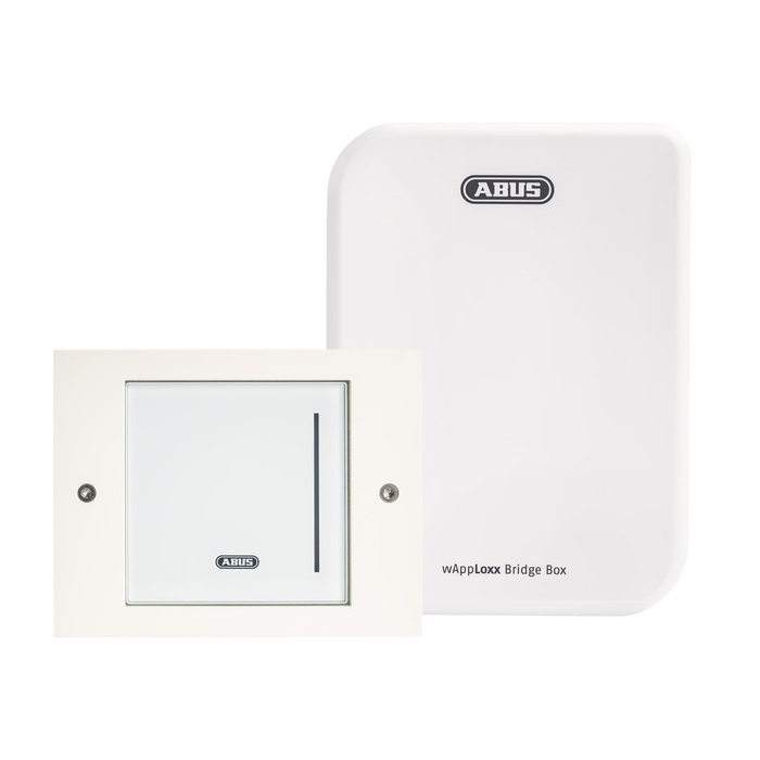 ABUS wAppLoxx WLX Pro Wall Reader Set IP44 (Wandleser + Bridge Box)