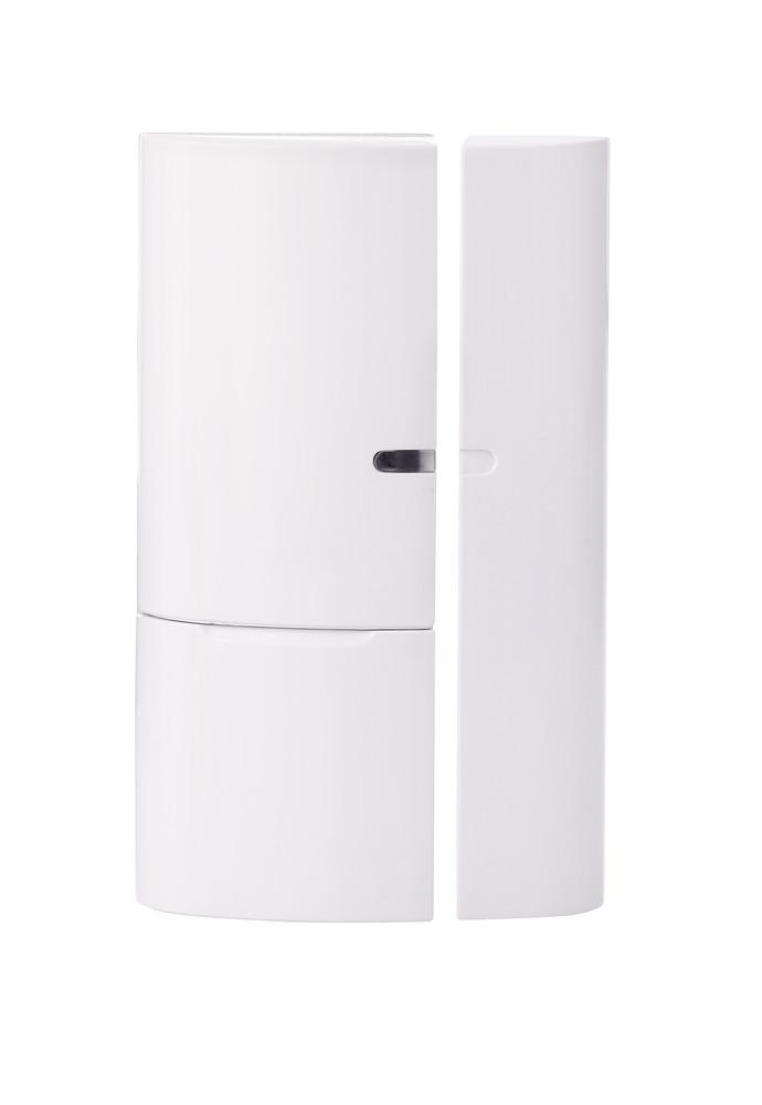 ABUS Smartvest Funk-Öffnungsmelder FUMK35000A – kabelloser Magnetkontakt für den Einbruchschutz von Fenstern und Türen