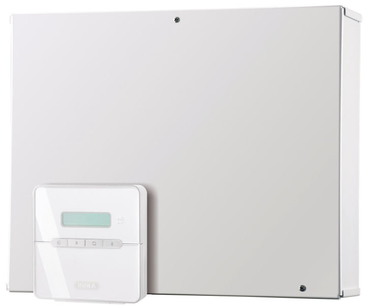 Terxon LX Hybrid Alarmzentrale | Abus AZ4200 | Vorderansicht