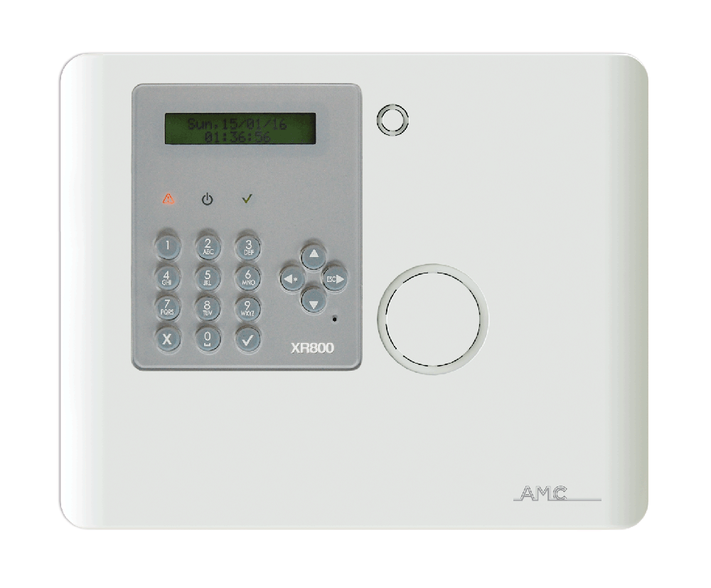 AMC Protect GSM Funk-Alarmzentrale XR800 - Frontalansicht