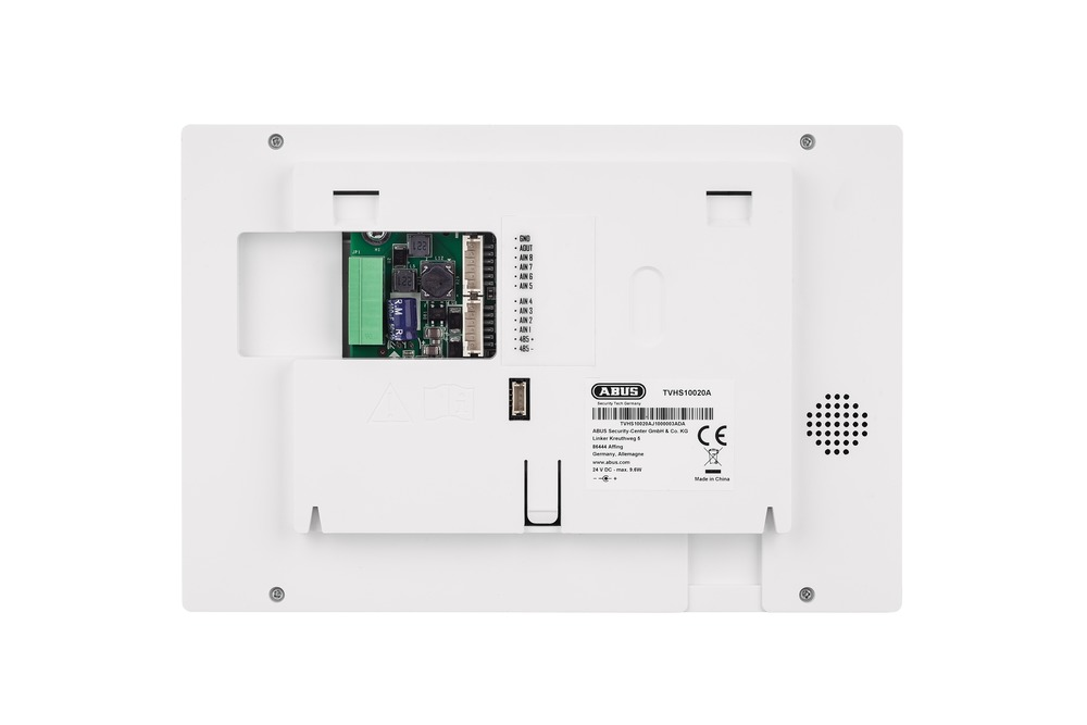 Abus TVHS10020A - 2-Draht Monitor für Türstation - Rückseite