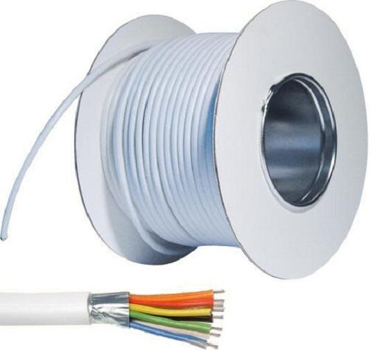 Alarmkabel 100 m Rolle, 0,22 mm (8-adrig) | ABUS AZ6361