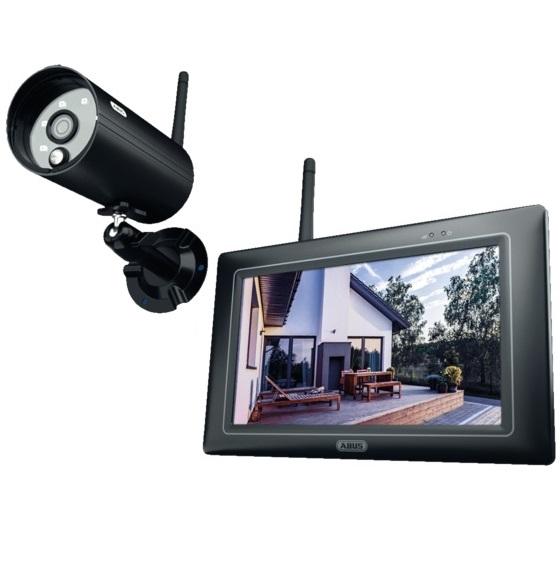 ABUS OneLook Funk-Videoüberwachungsset PPDF16000 mit 7'' Monitor