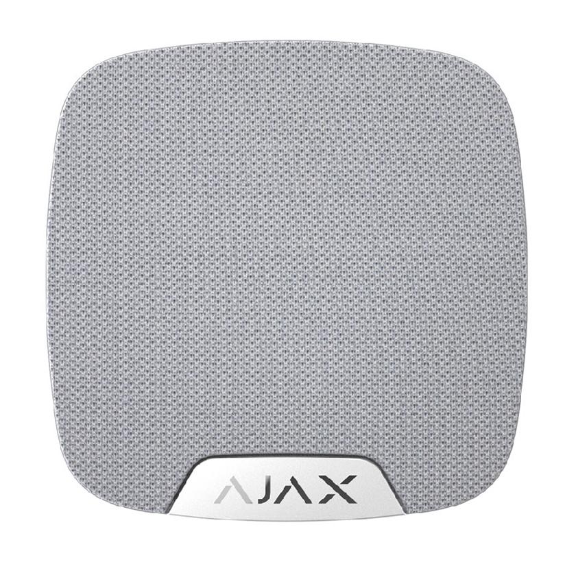 AJAX drahtlose Innensirene - HomeSiren, weiß - Vorderansicht
