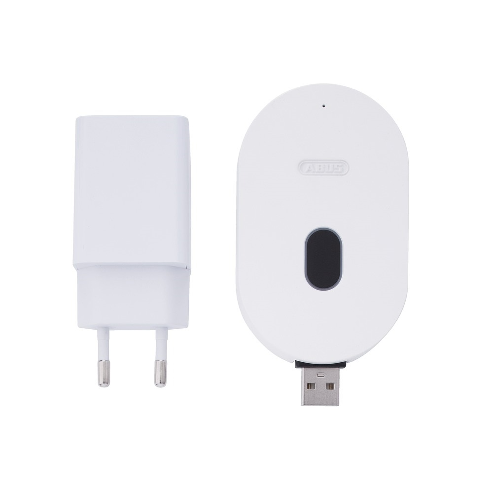 ABUS WLAN-Basisstation PPIC90010 - Netzstecker nebenliegend