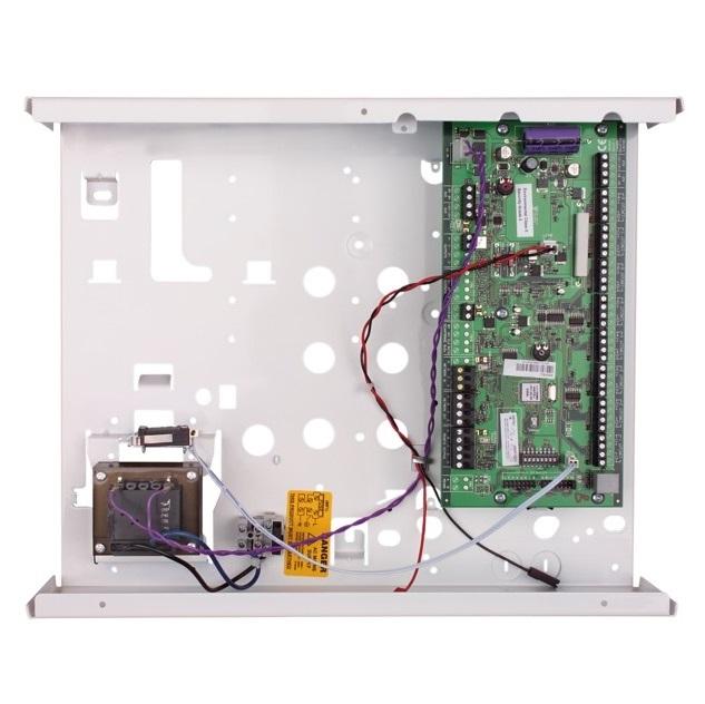 Terxon LX 8-Zonen Drahterweiterung mit integriertem Netzteil - Abus AZ4250 - Vorderansicht
