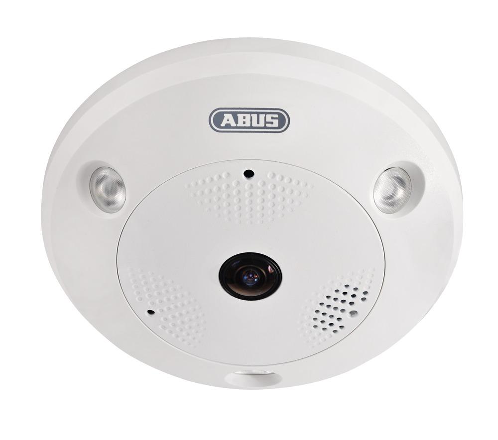 Abus IPCS24500 | Hemispheric IP Dome 12 MPx (2 mm) - 360°/180° Panoramaansichten - bis zu 12 MPx