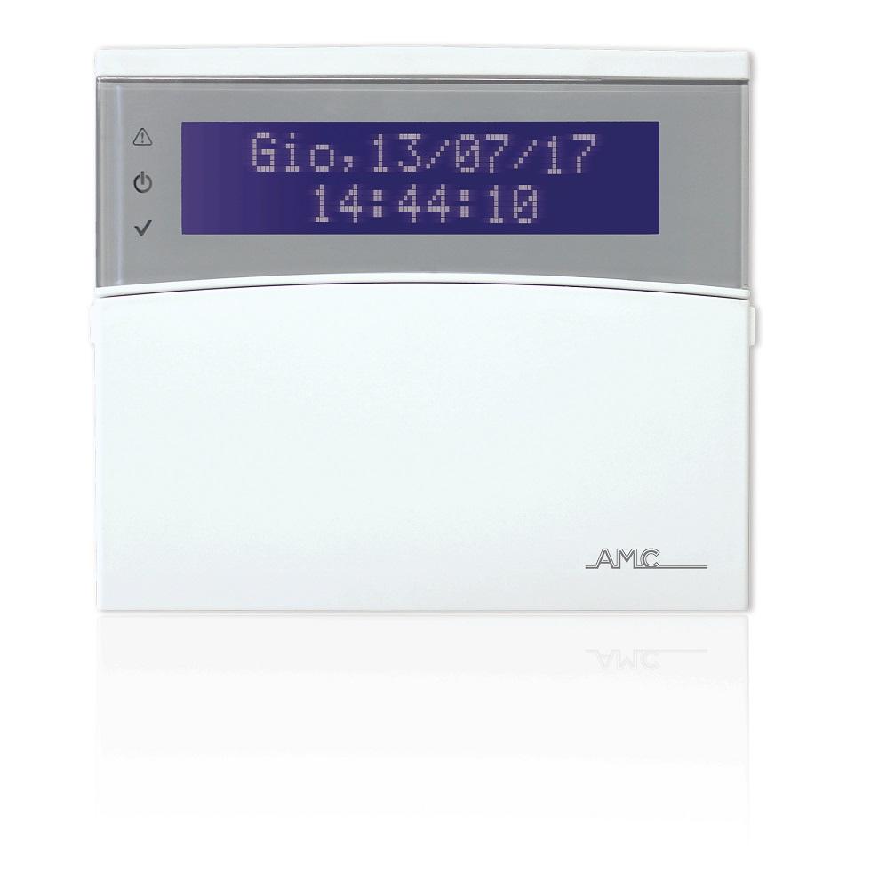Drahtloses AMC LCD-Bedienteil K-LCDW800 mit geschlossenem Deckel