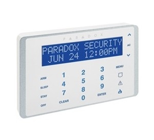 Paradox Touch Sense LCD-Bedienteil K656