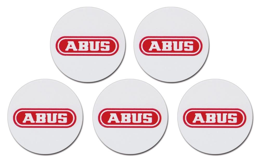 ABUS Smartvest/Terxon Proximity-Chip-Sticker (5er Pack) selbstklebend
