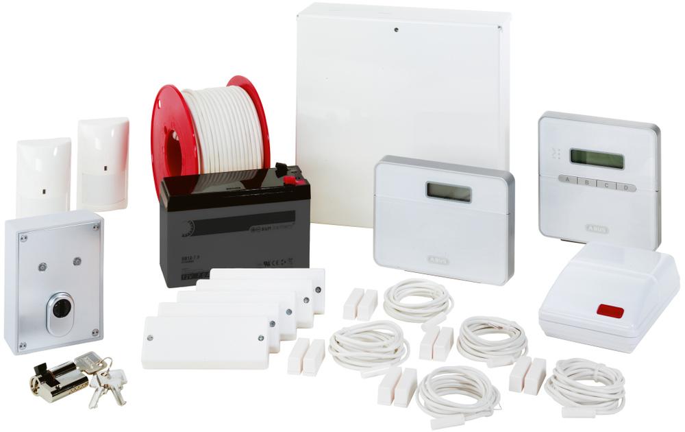 Terxon SX Komplett-Set mit PSTN-Wählgerät - Abus AZ4350