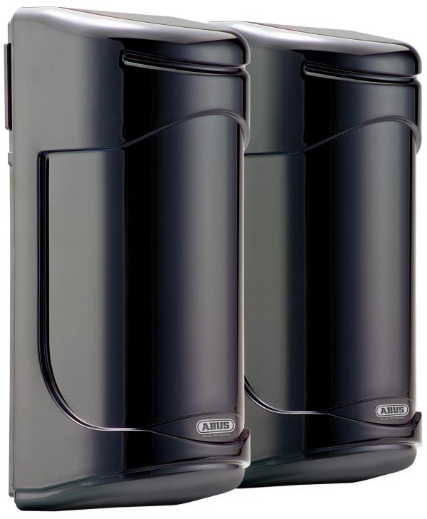 Dual-IR-Lichtschranke 120m | ABUS LS2120 | rechte Vorderansicht