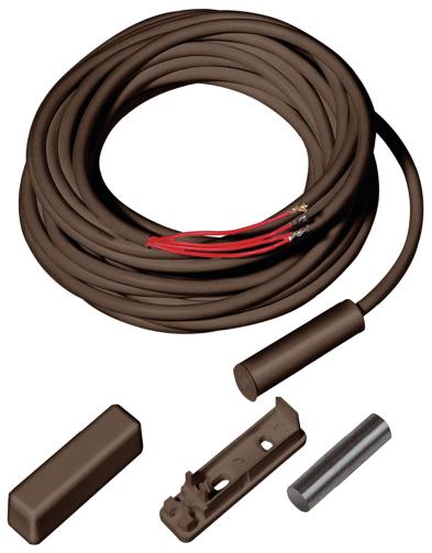Öffnungsmelder für Ein-/Aufbau, VdS-B, braun - ABUS MK1010B