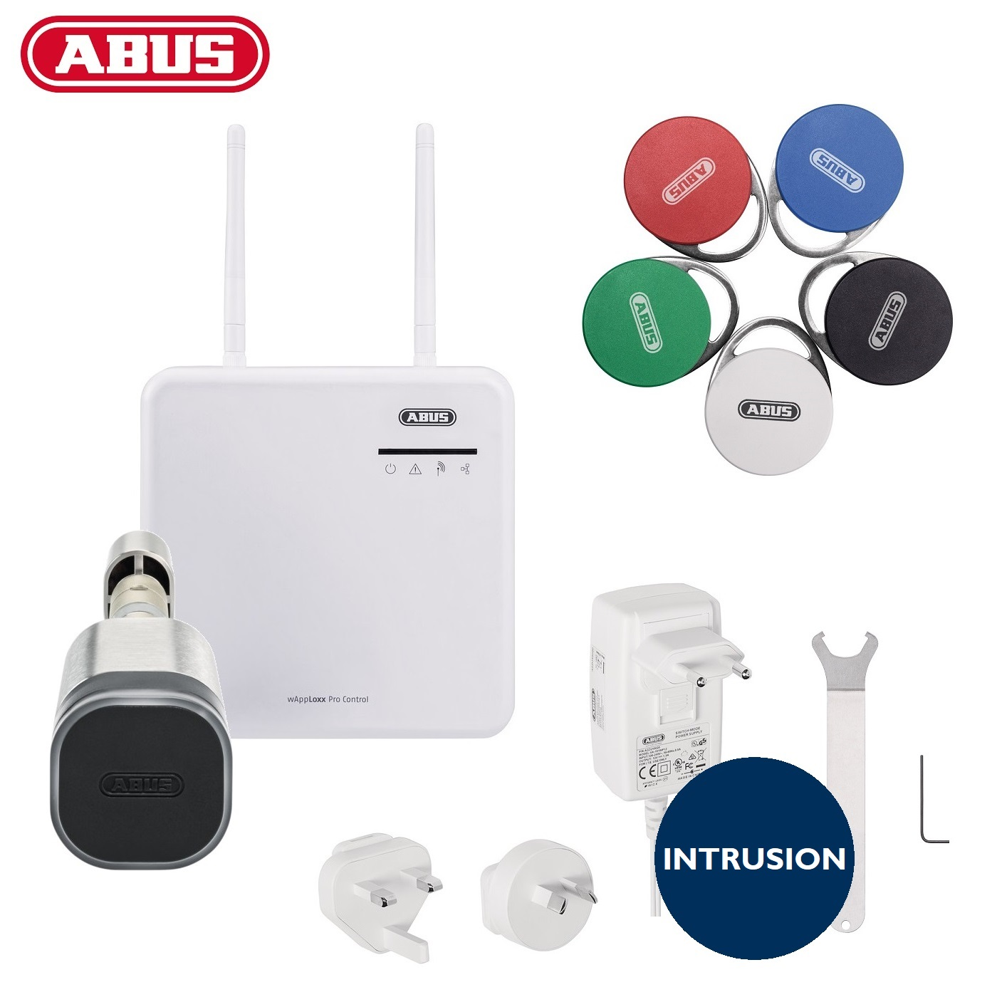 ABUS WLX Pro Starterkit Intrusion schwarz