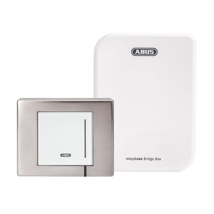 ABUS wAppLoxx WLX Pro Wall Reader Set Outdoor IP67 (Wandleser + Bridge Box)