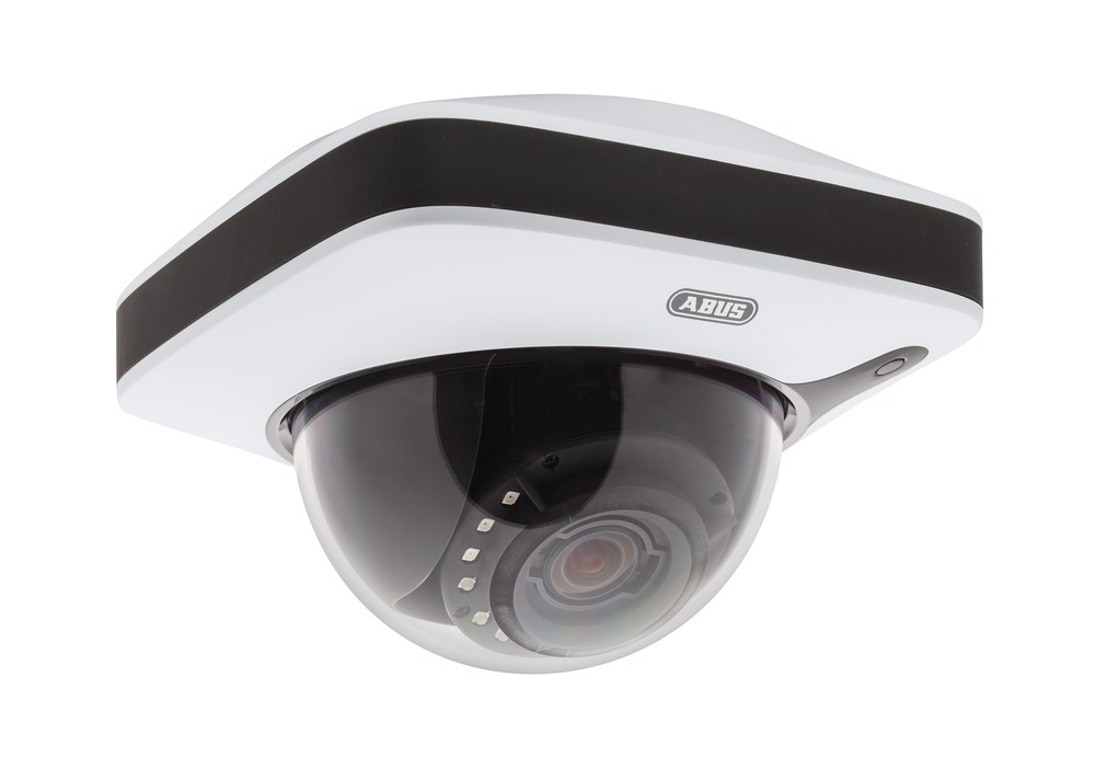 Innen IP Dome Kamera IR 1080p (3 - 9 mm) - ABUS IPCA32500 - Vorderansicht rechts