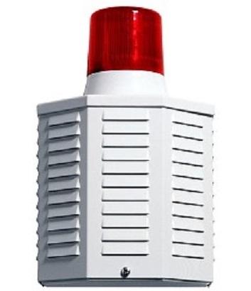 Signalgeber Attrappe mit rotem Blitzlicht  AS09 - frontal