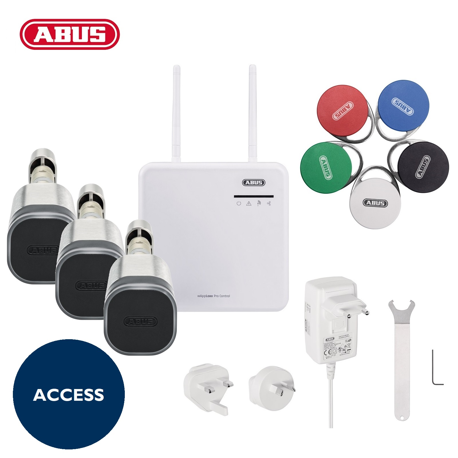 ABUS WLX Pro Starterkit Access PLUS schwarz