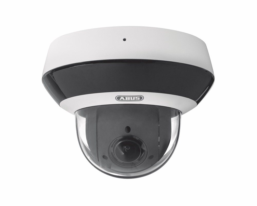 ABUS IPCS84510 IR IP PTZ Mini Dome Kamera mit Zoom - frontal