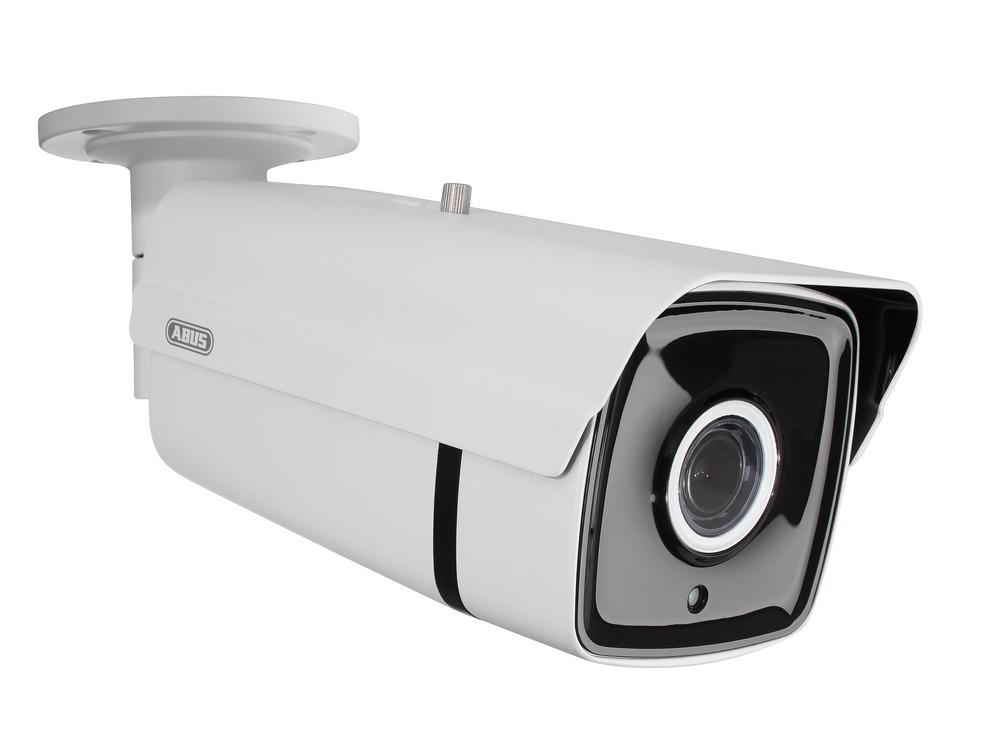 Abus Außen IP Tube IR 4 MPx (2.8 - 12 mm) mit High-Power IR-LEDs | IPCB64520 | Vorderansicht rechts